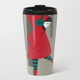 There is No Wolf Metal Travel Mug