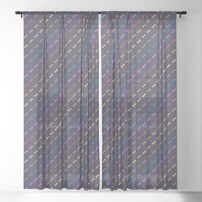 Rainbones Sheer Curtain