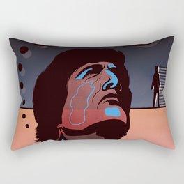Abstract Rendez Vous Night Rectangular Pillow