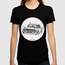 Crazy Car Art 0224 T-shirt