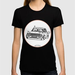 Crazy Car Art 0224 T-shirt