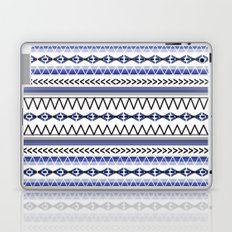Tribal Blue Laptop & iPad Skin