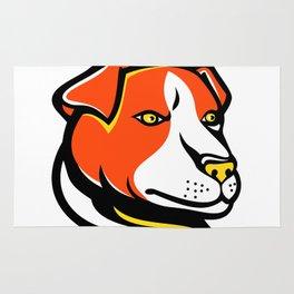 Jack Russell Terrier Mascot Rug