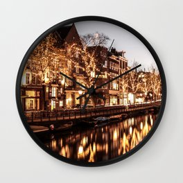 Shinning Amsterdam Wall Clock