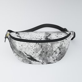 Galaxy (B/w inverted) Fanny Pack
