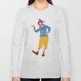 RonaldMcDonaldDuck Long Sleeve T-shirt