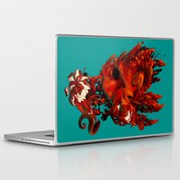 karma Laptop & iPad Skins featuring Karma by angrymonk