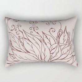 Growing of sorrow Rectangular Pillow