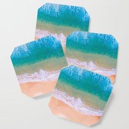 Ariel Beach Scene Coaster