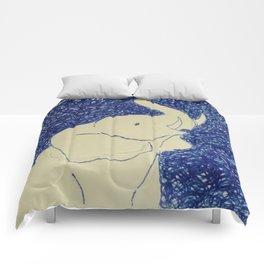 Elephant Doodle # 2 Comforters
