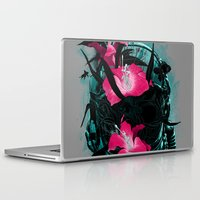 last of us Laptop & iPad Skins featuring The Last of Us by angrymonk