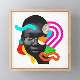 Polly Framed Mini Art Print