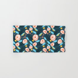 Carly #pattern #illustration #floral Hand & Bath Towel