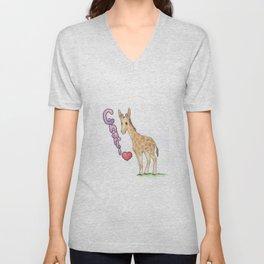 Charli's Giraffe Unisex V-Neck