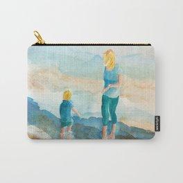 Joy On The Beach Carry-All Pouch