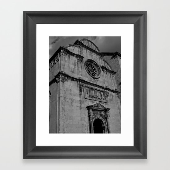 Venetian Church Framed Art Print