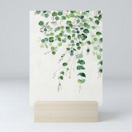 Eucalyptus Watercolor Mini Art Print