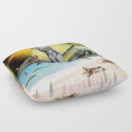 Cat Island Floor Pillow
