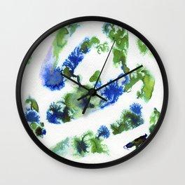 Dream green Wall Clock