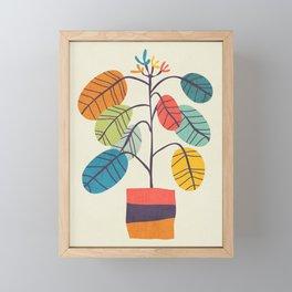 Potted plant 2 Framed Mini Art Print
