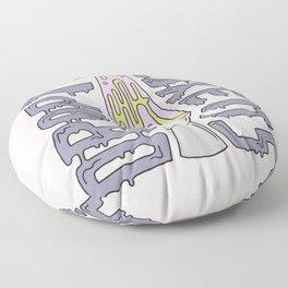 DROP IT LIKE IT'S HOT Floor Pillow