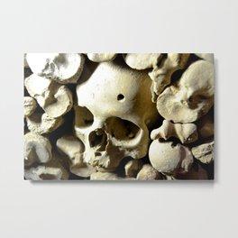 skull hole Metal Print
