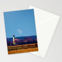 Concept landscape : View to a chapel Stationery Cards