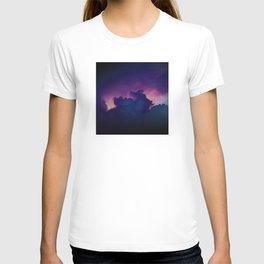 Bad Ass Purple Sky T-shirt