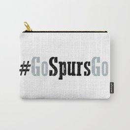 Go Spurs Go NBA Design Carry-All Pouch