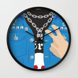 The Young Ones Poster Series :: Vyvyan Wall Clock