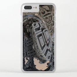Machine Clear iPhone Case