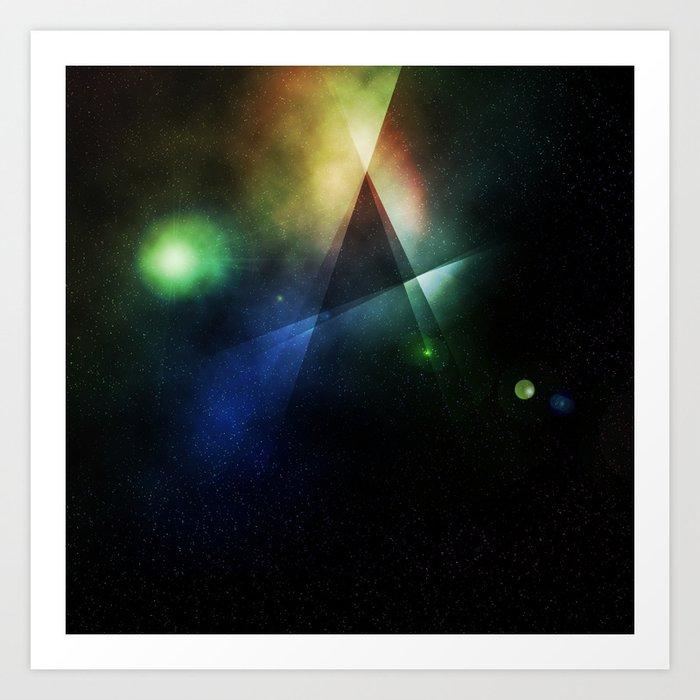 Space - Pattern 6 Art Print