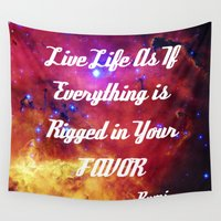 inspiration Wall Tapestries featuring Rumi by 2sweet4words Designs