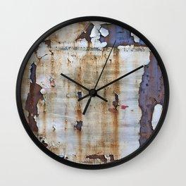 Grunge Metal Wall Clock
