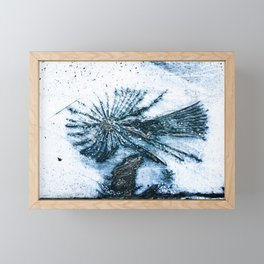 Blue Angel Framed Mini Art Print