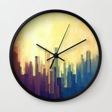 The Cloud City Wall Clock