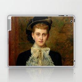 """John Everett Millais """"Countess de Pourtales, the former Mrs Sebastian Schlesinger"""" Laptop & iPad Skin"""