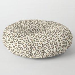Leopard - Neutral Colors Floor Pillow