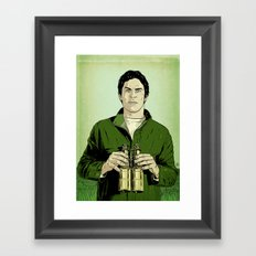 Envy is green Framed Art Print