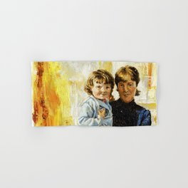 mother and child 1 Hand & Bath Towel