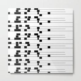ASCII All Over 06051312 Metal Print
