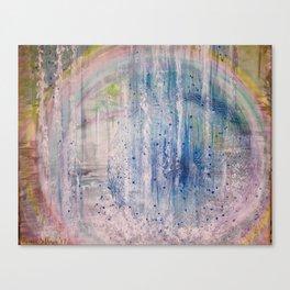 11 11 11 11 WaterFall Vortex Canvas Print