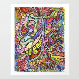 Kreech Art Print