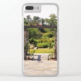 Garden Walkway Clear iPhone Case
