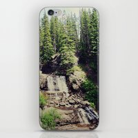 ashton irwin iPhone & iPod Skins featuring Irwin Falls by Teal Thomsen Photography