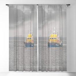 RNLI Lifeboat Sheer Curtain