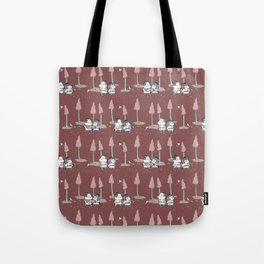 Hansel and Gretel - Red Tote Bag