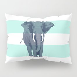 The Green Elephant Pillow Sham