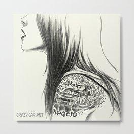 ozizo art 0018 Metal Print