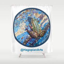 Eco Mural Project 4: Amphibians Shower Curtain